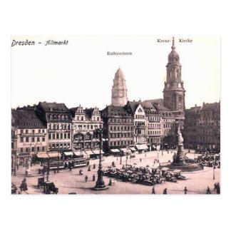 Oud Briefkaart - Dresden, Duitsland