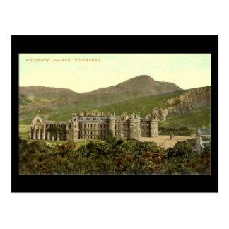 Oud Briefkaart, Edinburgh, Paleis Holyrood Briefkaart