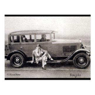 Oud Briefkaart - Foujita