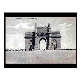 Oud Briefkaart - Gateway van India, Mumbai