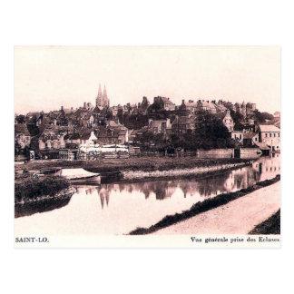 Oud Briefkaart - heilige-Lô, Normandie
