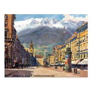 Oud Briefkaart - Innsbruck, Oostenrijk