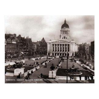 Oud Briefkaart - Nottingham