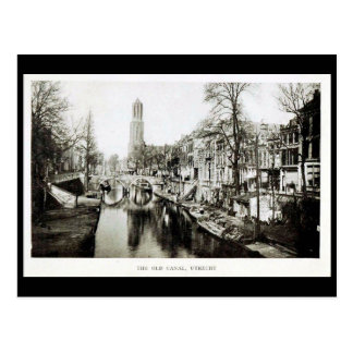 Oud Briefkaart - Oud Kanaal, Utrecht, Nederland