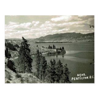 Oud Briefkaart - Penticton, Brits Colombia, Canada