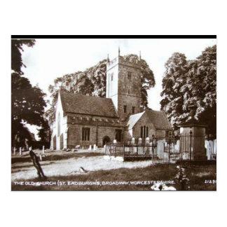 Oud Briefkaart - St Eadburgh Kerk, Broadway
