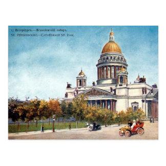 Oud Briefkaart - St. Petersburg, Rusland