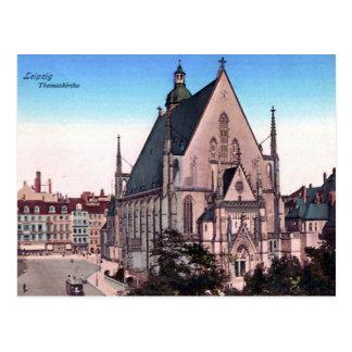 Oud Briefkaart - Thomaskirche, Leipzig