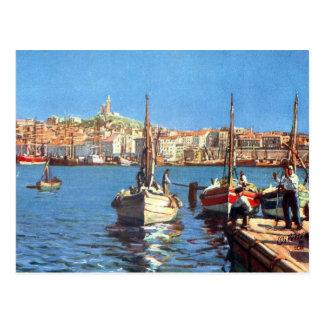 Oud Briefkaart - Vieux Haven, Marseille