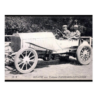 Oud Briefkaart - Voiture Panhard-Levassor