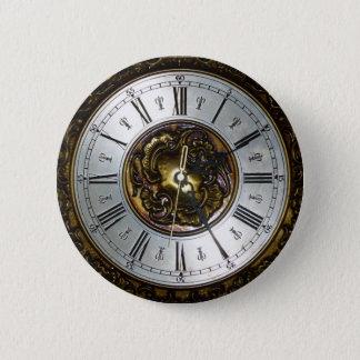 Oud het ontwerpaccessoire van de steampunkklok, ronde button 5,7 cm