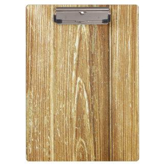 oud hout klembord