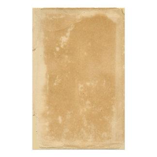 Oud Perkament Briefpapier Ontwerp