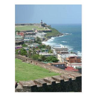 Oud San Juan Shore Briefkaart