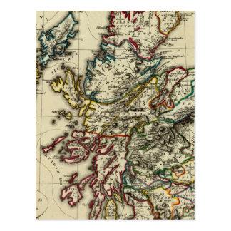 Oud Schotland, modern Briefkaart
