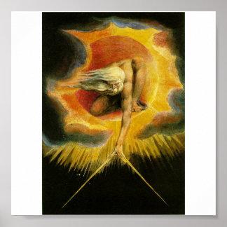 Oud van Dagen door William Blake Poster