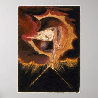 Oud van Dagen - William Blake Poster