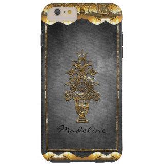 Oud Victoriaans 6/6s Monogram Rugbey plus Tough iPhone 6 Plus Hoesje