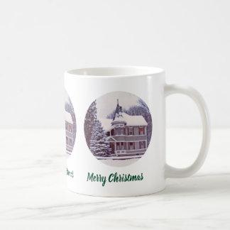 Oud Victoriaans Huis - Huis voor het Vakantie Koffiemok
