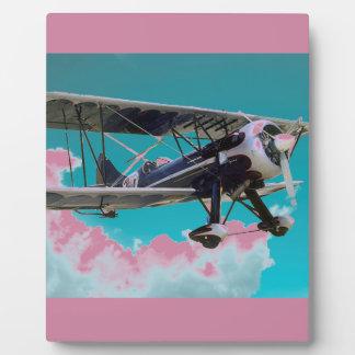 Oud Vliegtuig Fotoplaat