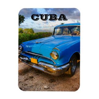 Oude Amerikaanse klassieke auto in Trinidad, Cuba Magneet