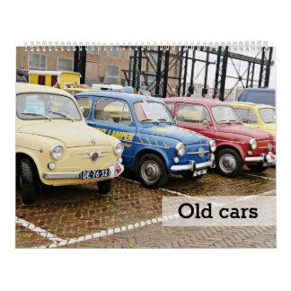 Oude auto's kalender