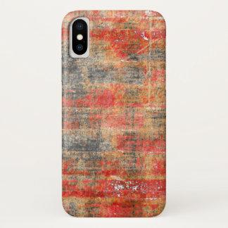 Oude Bakstenen muur iPhone X Hoesje