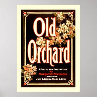 Oude Boomgaard een Spel van het Poster van het