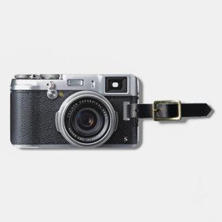 oude camera bagagelabel