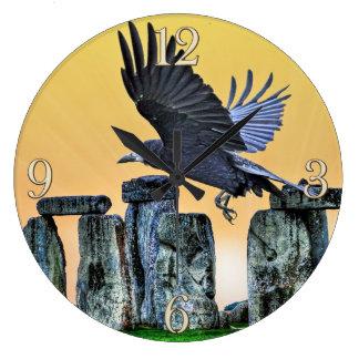 Oude de corvid-Minnaar van Stonehenge & van de Ronde Klok Large