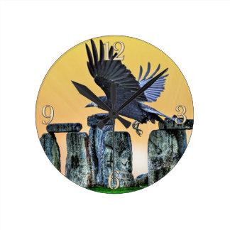 Oude de corvid-Minnaar van Stonehenge & van de Ronde Klok Medium
