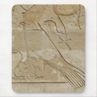 Oude Egyptische Sleutel van het Leven Ankh met Muismat
