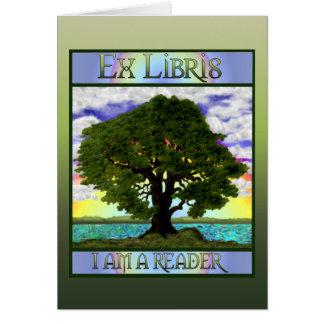 Oude Eiken Kaart Bookplate