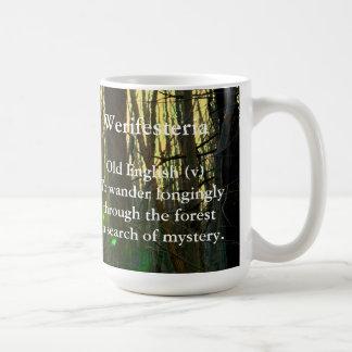 Oude Engels-Werifesteria Koffiemok