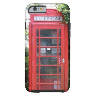 Oude Engelse Rode Telefooncel Tough iPhone 6 Hoesje