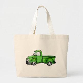 Oude Groene Pick-up Grote Draagtas