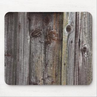 Oude houten muur mousepad muismat