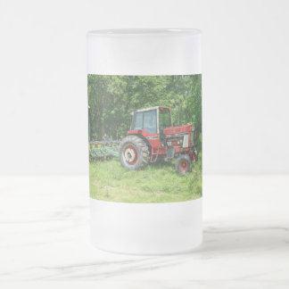 Oude Internationale Tractor Matglas Bierpul