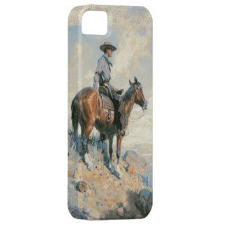Oude iPhone 5 van de Verkenner van de Cowboy van Barely There iPhone 5 Hoesje