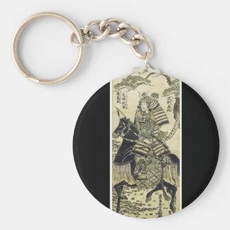 Oude Japanse Kunst Keychain Sleutelhanger