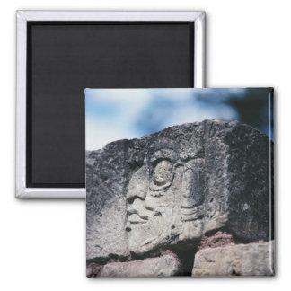Oude Mayan ruïneert Foto Ontworpen Kleur Magneet