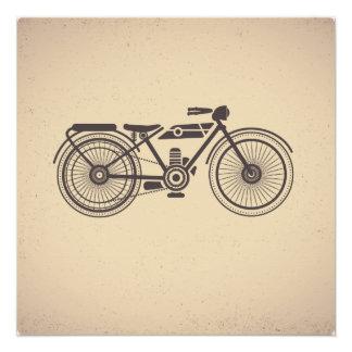 Oude motorfietsen poster