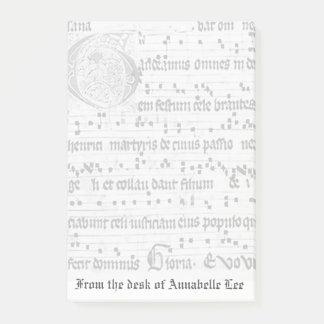 Oude Muziek Post-it® Notes
