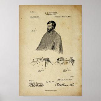 Oude Poster van het Octrooi van de Kaap van de
