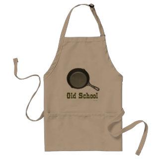 Oude School Cook Standaard Schort