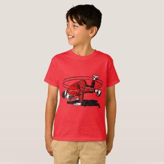 Oude School Hip Hop Breakdancer T Shirt