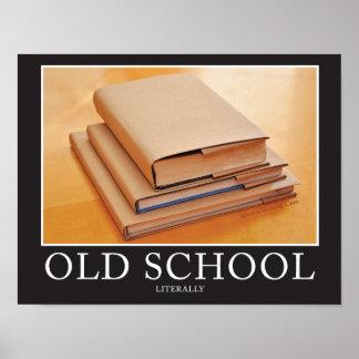 Oude School Poster