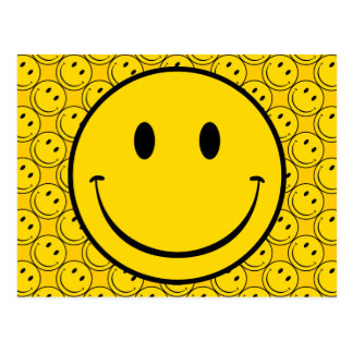 Oude School Smiley Briefkaart