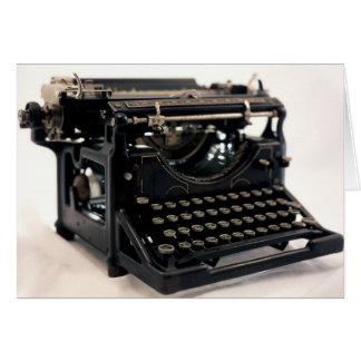 Oude Schrijfmachine Briefkaarten 0