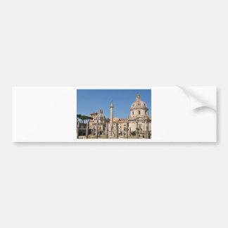 Oude stad van Rome, Italië Bumpersticker